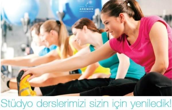 Anemon Otel Eskişehir Spor Salonu