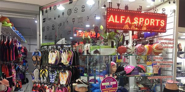 Alfa Spor Mağazası Eskişehir