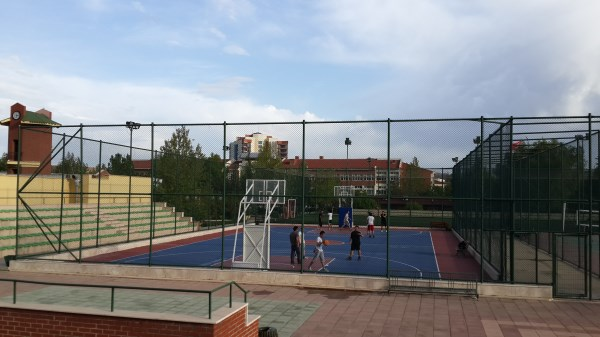 Anadolu Üniversitesi Basketbol Sahası