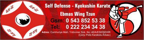 İlk iz ağırlık ve savunma sporları Eskişehir