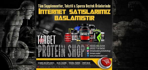 Target Sporcu Gıdaları Eskişehir